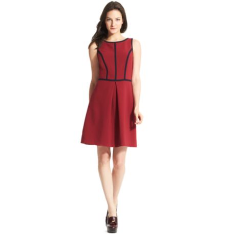 Image for SLEEVELESS BATEAU DRESS from Tommy Hilfiger USA