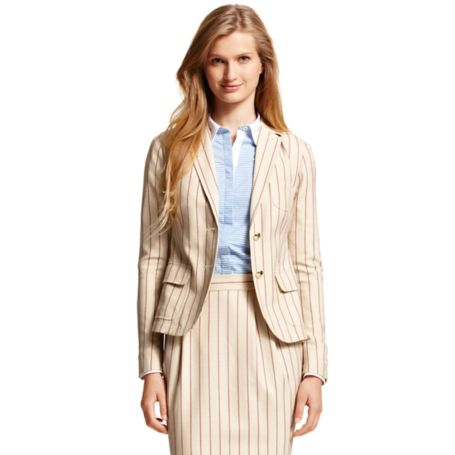 Image for STRIPE BLAZER from Tommy Hilfiger USA