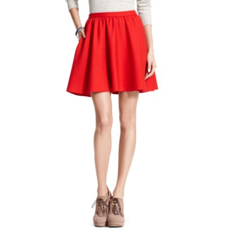 Image for SOLID FLARE SKIRT from Tommy Hilfiger USA