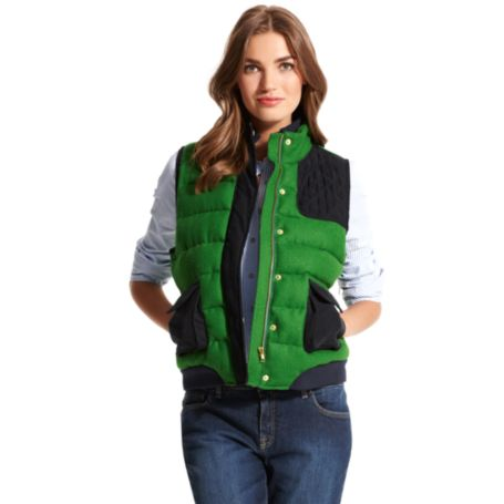Image for GREEN PUFFER VEST from Tommy Hilfiger USA