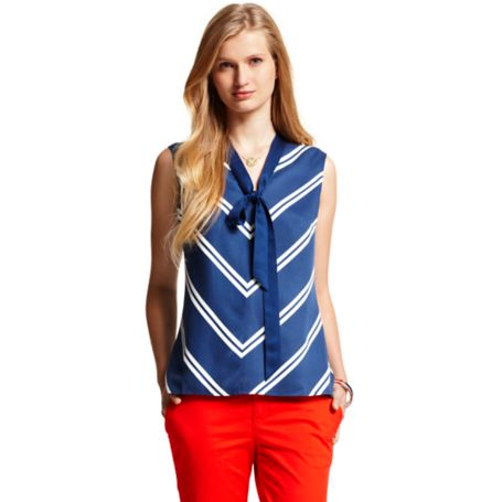 Image for BOW WOVEN TANK from Tommy Hilfiger USA
