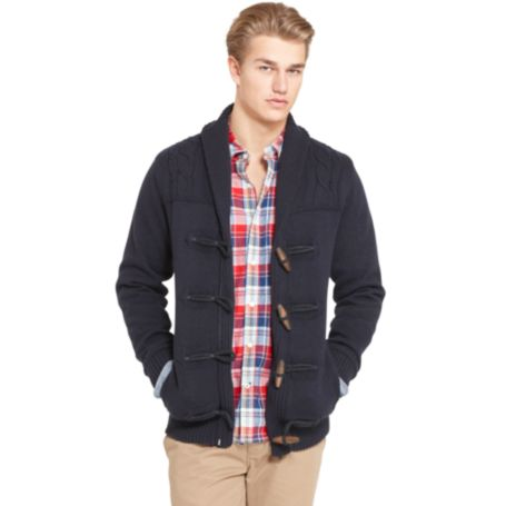 Image for TOGGLE SHAWL CARDIGAN from Tommy Hilfiger USA