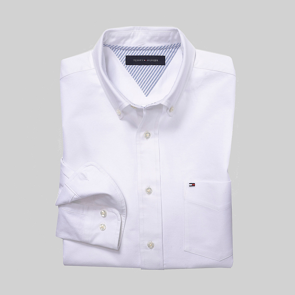 Tommy-Hilfiger-Heritage-L-S-Solid-Oxford-Shirt