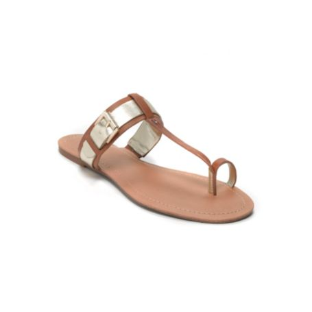 Image for TOE SLIP ON FLAT SANDAL from Tommy Hilfiger USA
