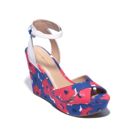 Image for ANKLE STRAP WEDGE from Tommy Hilfiger USA