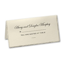 On the Edge - Printed Place Card