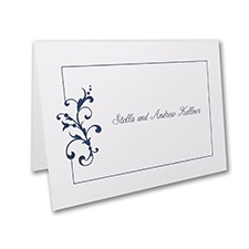 Little Love Birds - Thank You Note - White