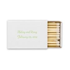 Box Matches - White