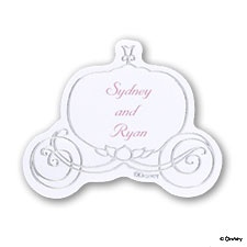 Cinderella Silver Carriage Seal - Printed