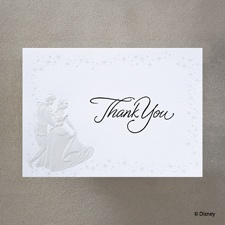 Cinderella's Carriage - Thank You Card with Verse and Envelope