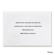 Cinderella's Castle - Reception Card