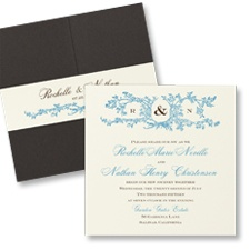 Natures Spirit Pocket Invitation