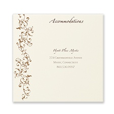 French Floret - Accommodation Card