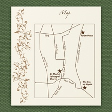 French Floret - Map Card