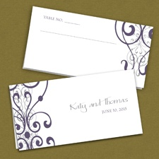 Stately Scrolls - Place Card
