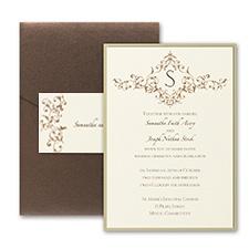 French Floret - Layered Pocket Invitation
