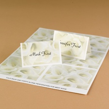 Lots of Lilies Printable Place Cards