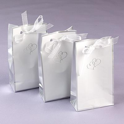 Swish Heart Favor Bags