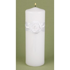 Sweet Rose Unity Candle