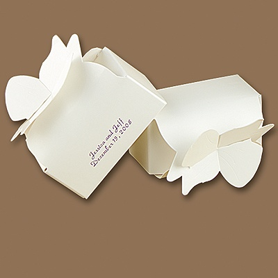 White Bow Box - Personalized