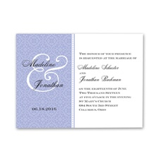 Sweet Sophistication - Hydrangea - Invitation