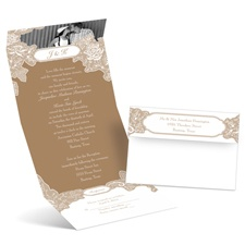 Romantic Details - Photo Invitation