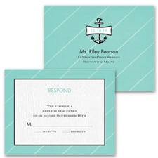 Nautical Details - Response Postcard