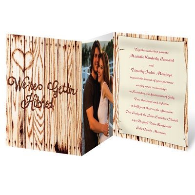 Gettin' Hitched - Photo Invitation