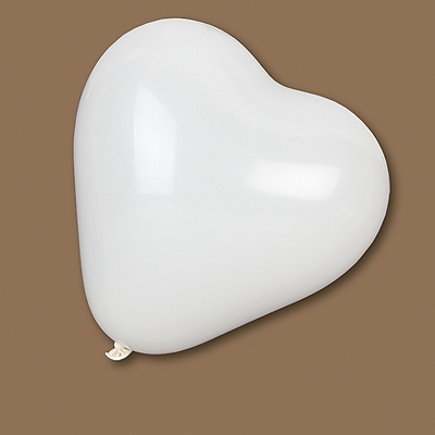Heart-Shaped Latex Balloons