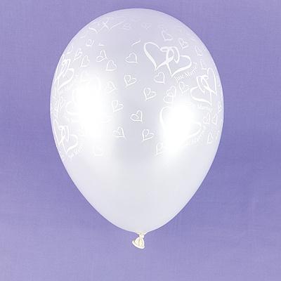 Swish Heart Balloons