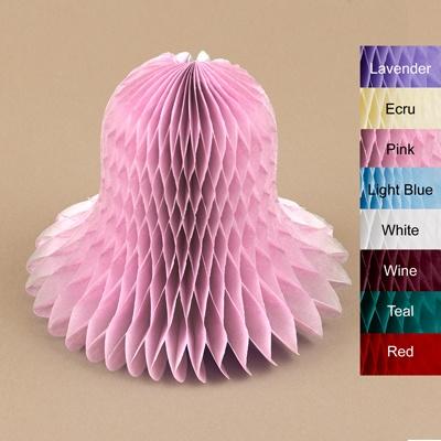 "Colored 5"" Tissue Bells - 12 pkg."
