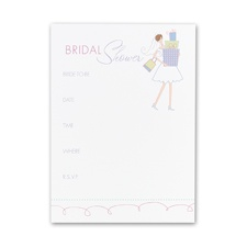 All Set - Bridal Shower Invitation