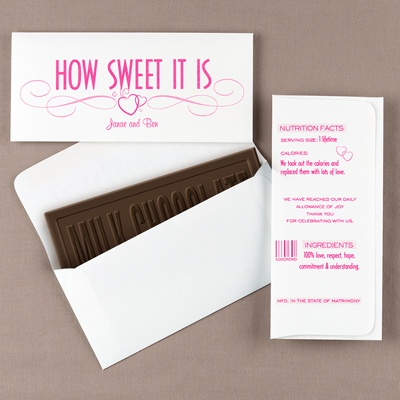"Candy Bar Envelopes ""How Sweet. . ."