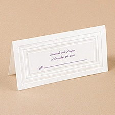 Pearl Panel Place Card