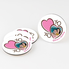 XOXO - Round Coaster Set
