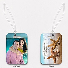 Starfish Pair - Photo Luggage Tags