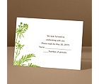 Growing Love - Grass - Response Card and Envelope