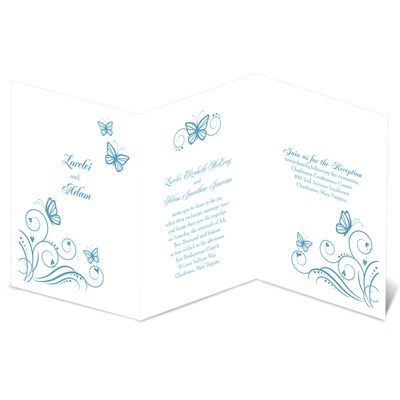 Delicate Butterflies - Invitation