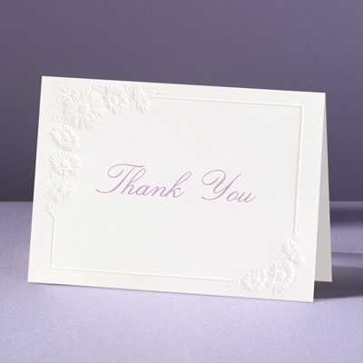 Dainty As A Daisy - Thank You Card and Envelope