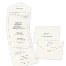 Old-Fashioned Style - Seal and Send Invitation