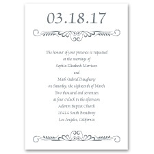 Calligraphy Perch - Invitation