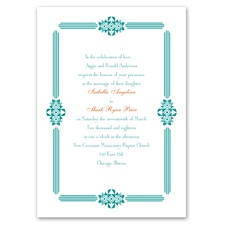 Art Deco Frame - Invitation