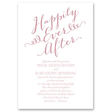 Fairy Tale Whimsy - Invitation