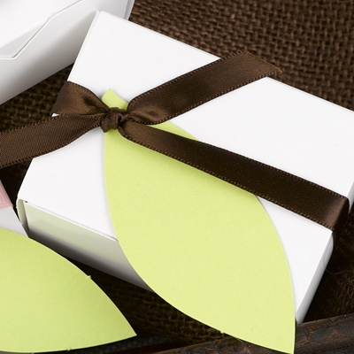 Leaf Favor Tags - Green