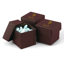 Mocha Favor Boxes (2-Piece)