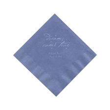 Periwinkle Cocktail Napkins