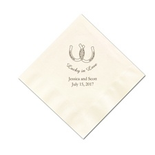 Ecru Cocktail Napkins