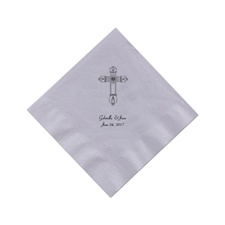 Grey Cocktail Napkins