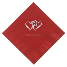 Classic Red Dinner Napkins