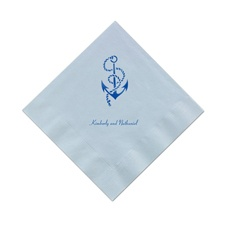 Light Blue Cocktail Napkins